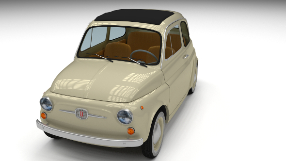 Fiat 500D Nuova 1960 - 3DOcean Item for Sale