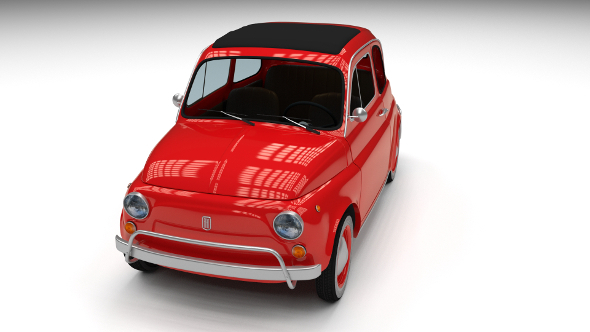 Fiat 500L Luxe 1968 - 3DOcean Item for Sale