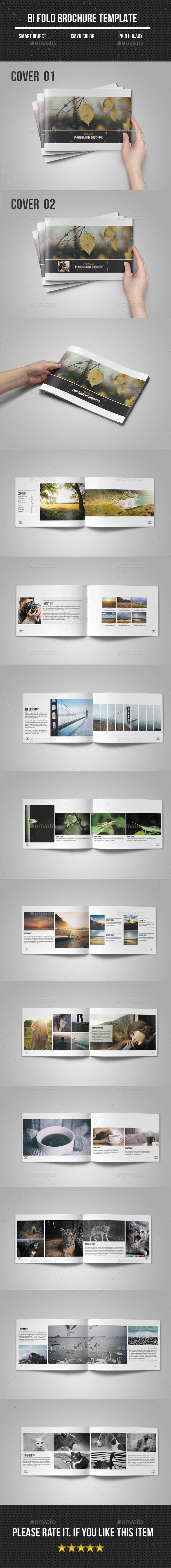 Photographer Portfolio/ Brochure - Catalogs Brochures