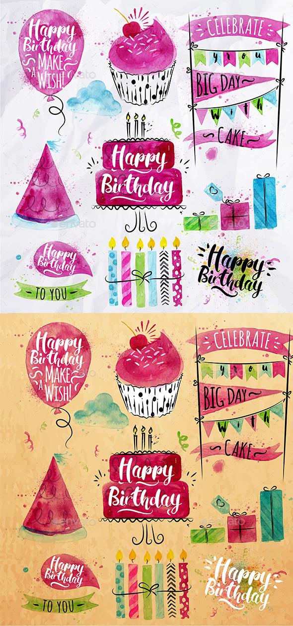 Birthday Set - Birthdays Seasons/Holidays