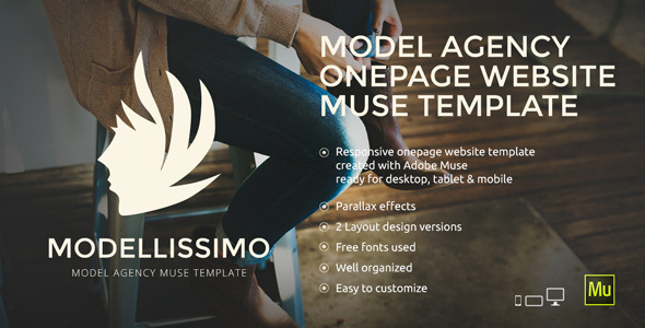 Modelissimo – Model Agency Muse Template