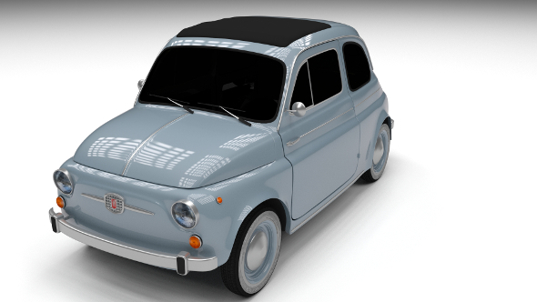 Fiat 500 Nuova 1957 - 3DOcean Item for Sale