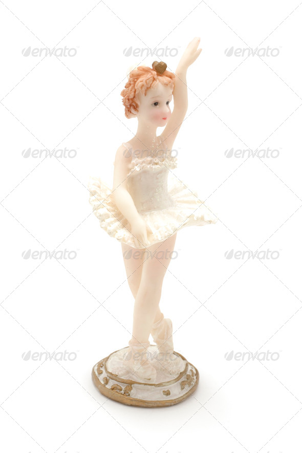 Ballerina Figure - Stock Photo - Images
