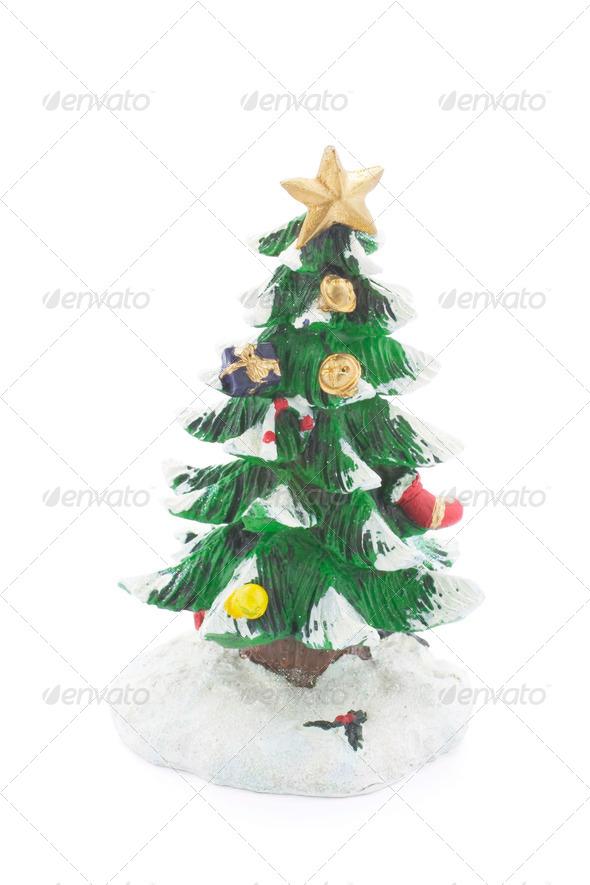 Christmas Tree Figurine - Stock Photo - Images