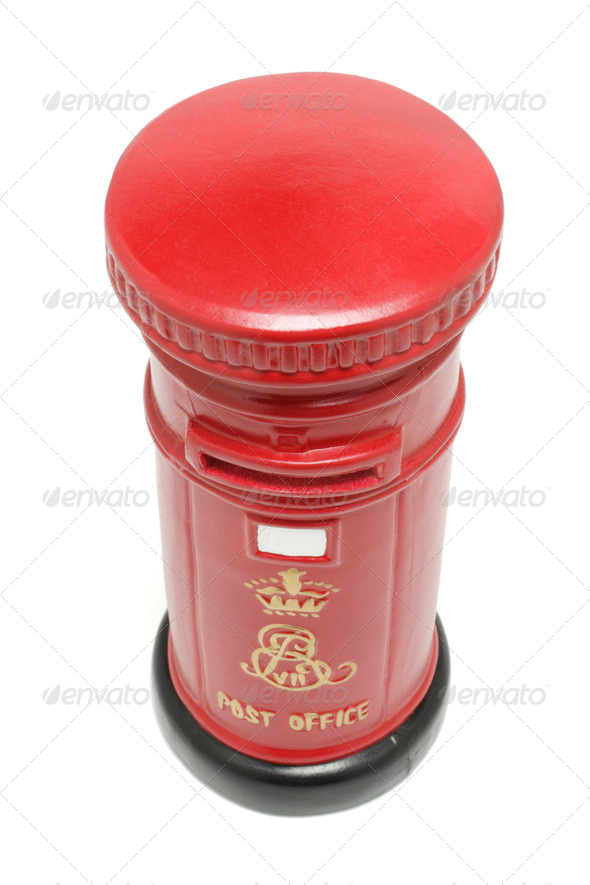 Miniature Postbox - Stock Photo - Images