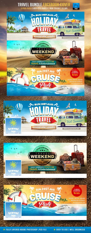 Travel Bundle Facebook Cover - Facebook Timeline Covers Social Media
