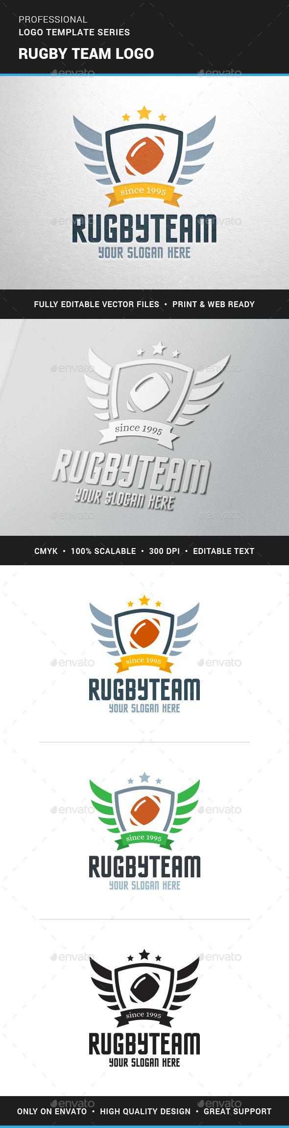 Rugby Team Logo Team - Crests Logo Templates