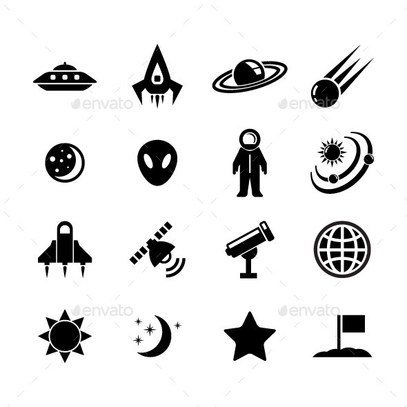 Space Icon - Technology Icons