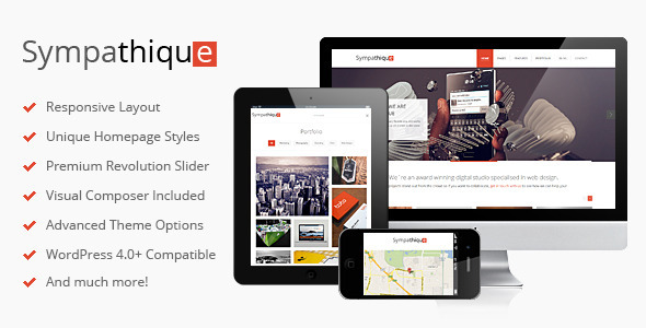Sympathique – Responsive WordPress Theme