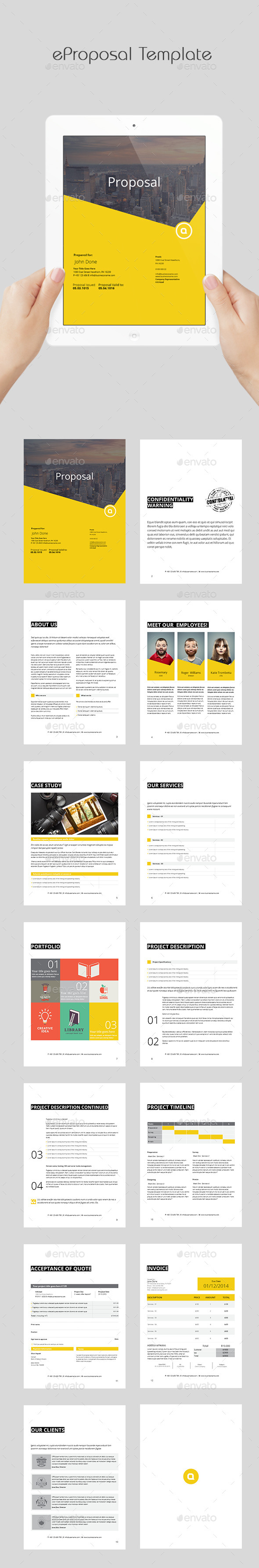 eProposal Template - ePublishing