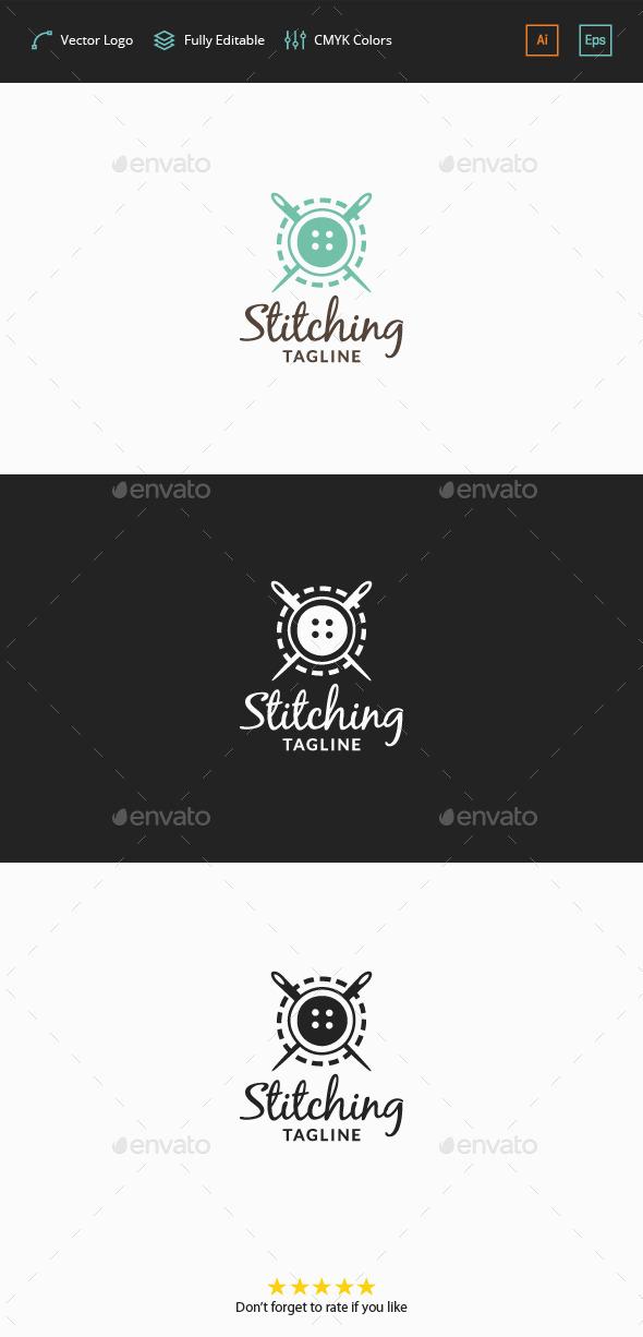 Stitching Logo - Objects Logo Templates