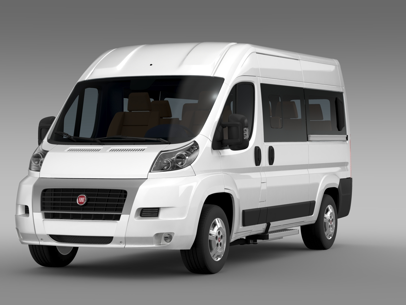 fiat ducato panorama l2h2 2006 2014 by creator 3d 3docean. Black Bedroom Furniture Sets. Home Design Ideas