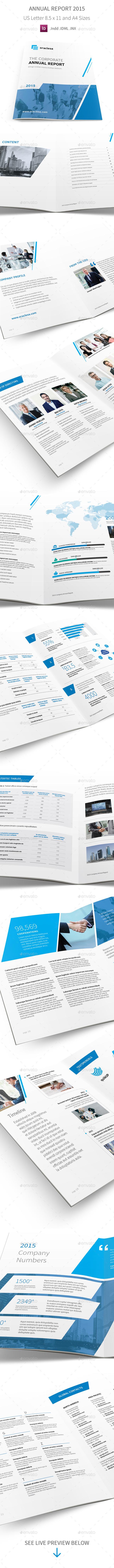 Annual Report 2015 - Corporate Brochures