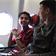 Two Men Talking on the Airplane 2 - VideoHive Item for Sale