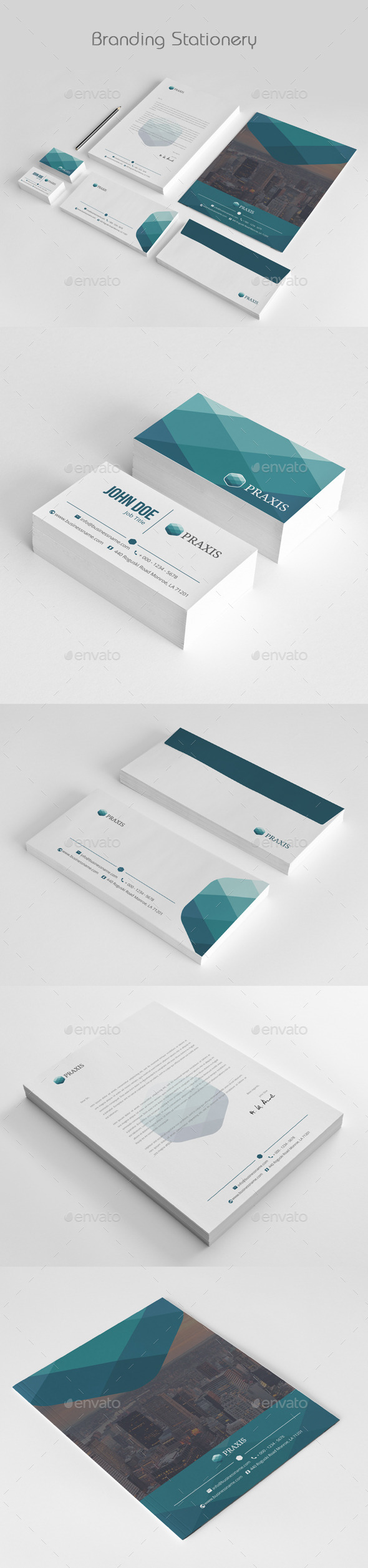 Business Stationery - Stationery Print Templates
