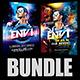 Guest DJ Party Flyer Bundle - GraphicRiver Item for Sale
