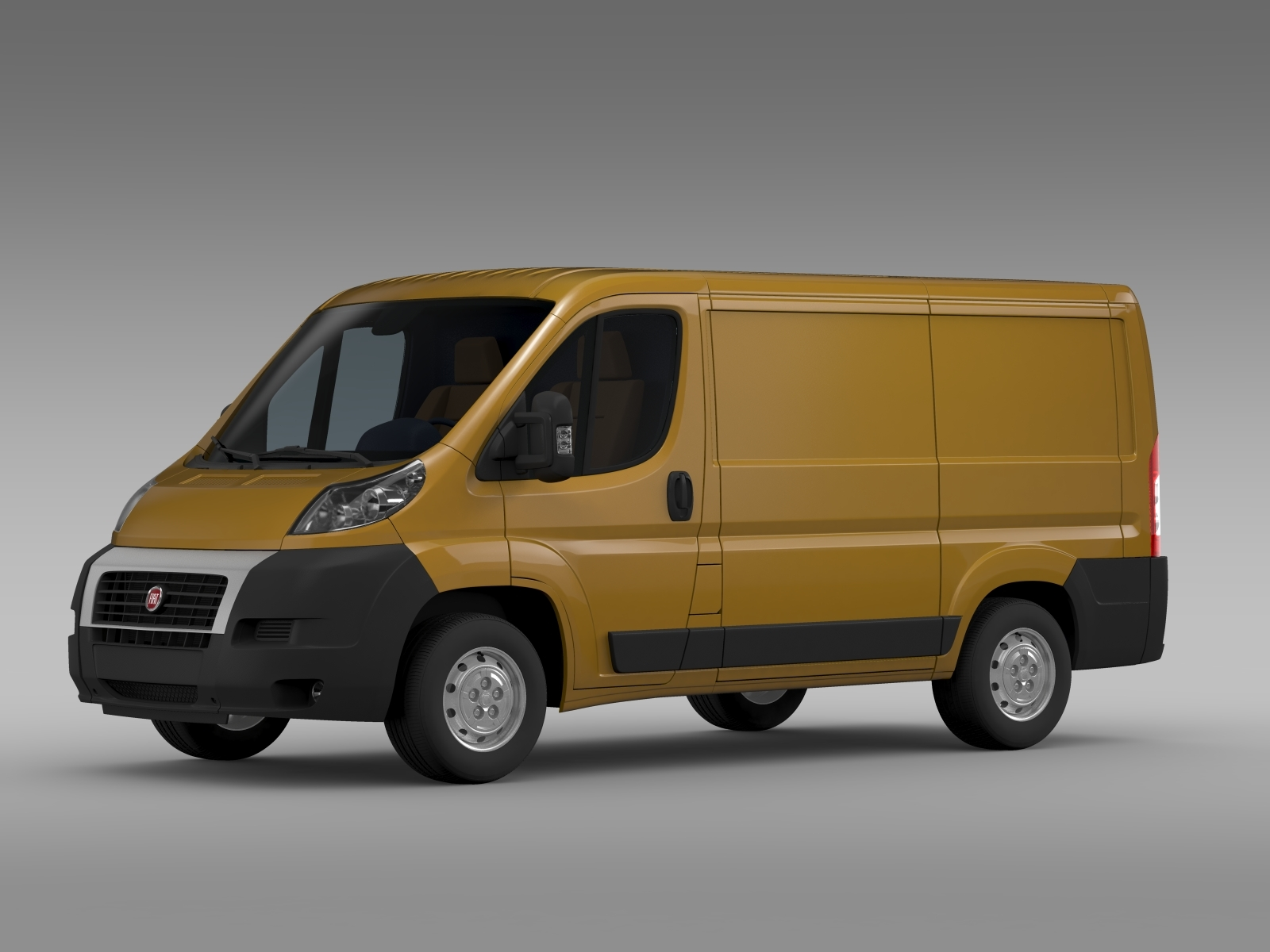 fiat ducato van l1h1 2006 2014 by creator 3d 3docean. Black Bedroom Furniture Sets. Home Design Ideas