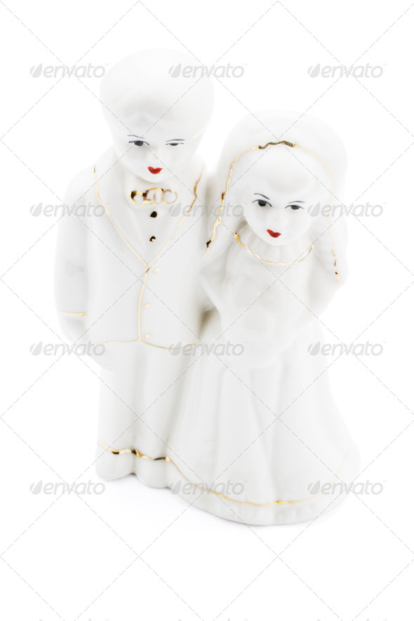 Wedding Couple Figure - Stock Photo - Images