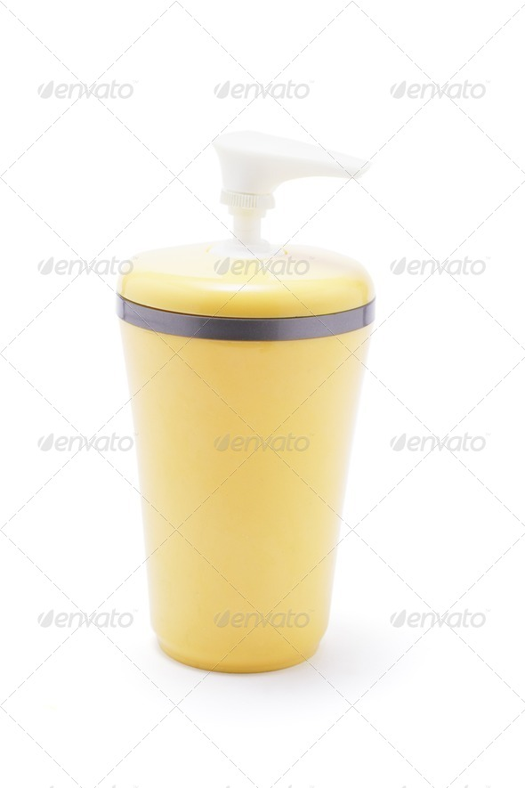 Lotion Dispenser - Stock Photo - Images