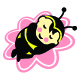 Shoft Sleep Bee Baby logo - GraphicRiver Item for Sale