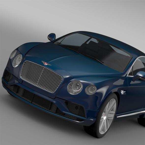 Bentley Continental GT V8 2015 - 3DOcean Item for Sale