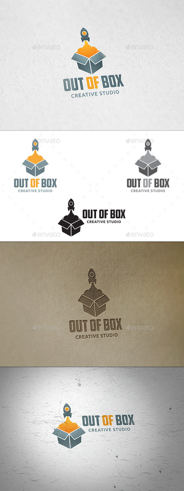 Out Of Box - Logo Template - Objects Logo Templates