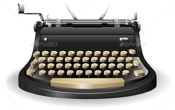 Typewriter - Miscellaneous Conceptual