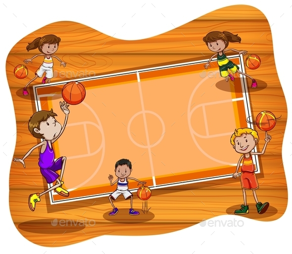 Basketball - Backgrounds Decorative