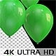3D Rising Balloons - All Green Color - VideoHive Item for Sale