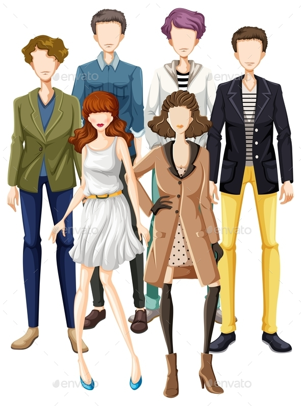 Garment - People Characters