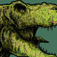 T-rex Head Vector - GraphicRiver Item for Sale