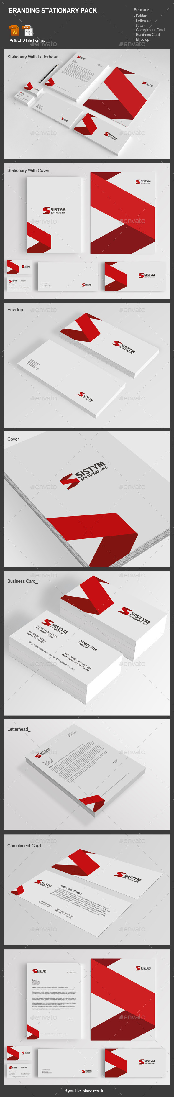 Branding Stationary Pack - Stationery Print Templates