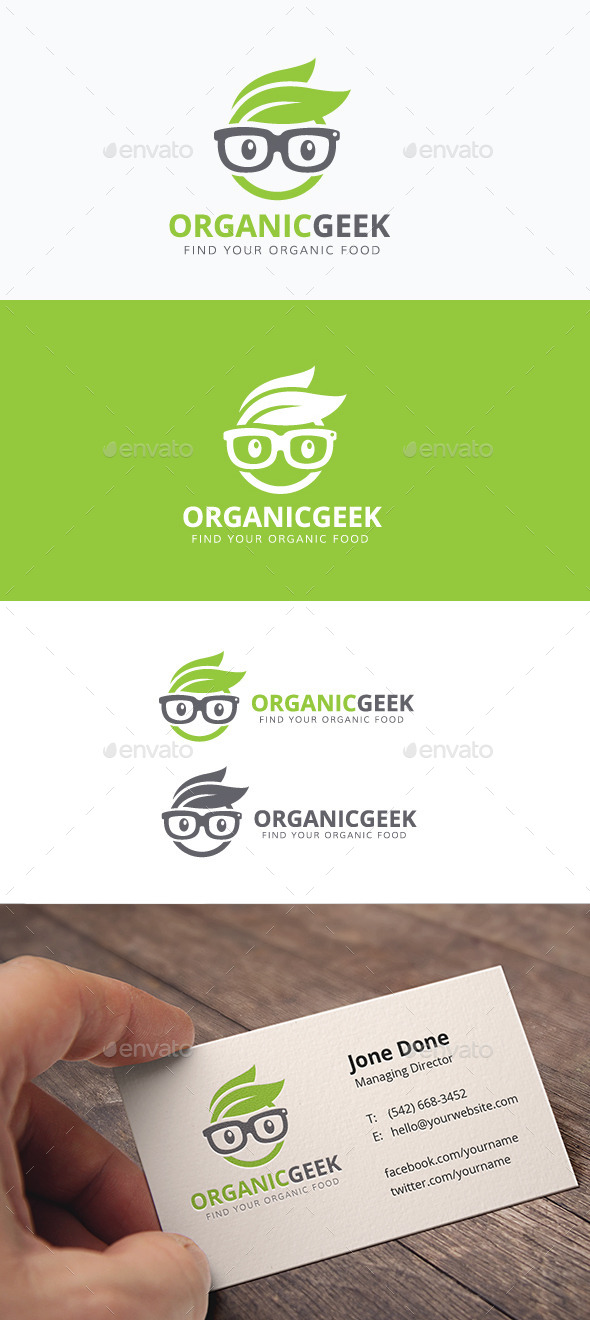 Organic Geek - Humans Logo Templates