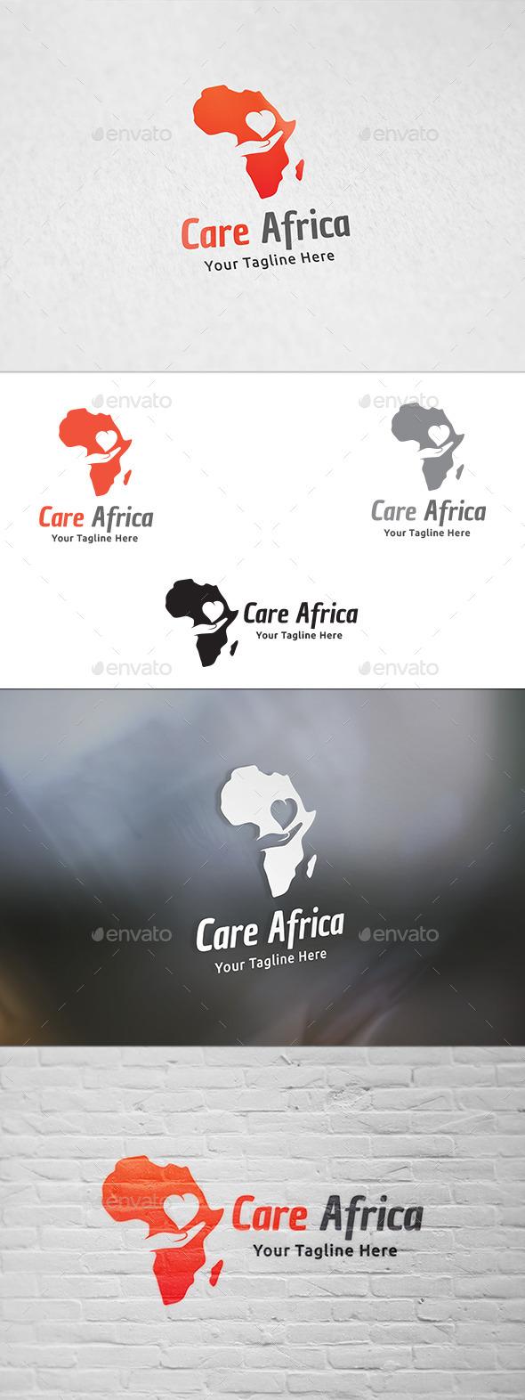 Care Africa - Logo Template - Symbols Logo Templates