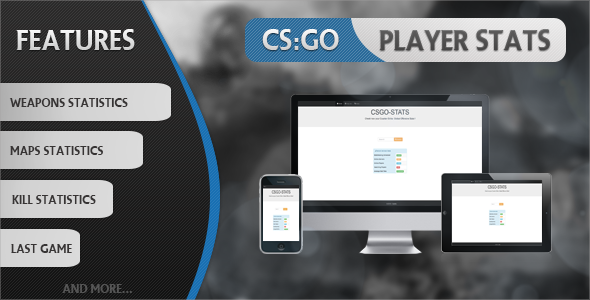 CS:GO Player Stats - CodeCanyon Item for Sale