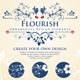 Flourish Calligraphic Design Elements - GraphicRiver Item for Sale