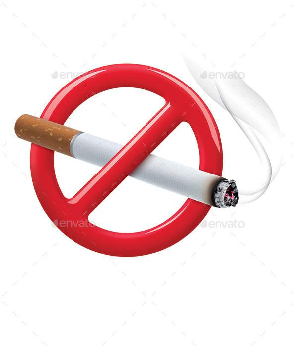 No Smoking Sign - Man-made Objects Objects