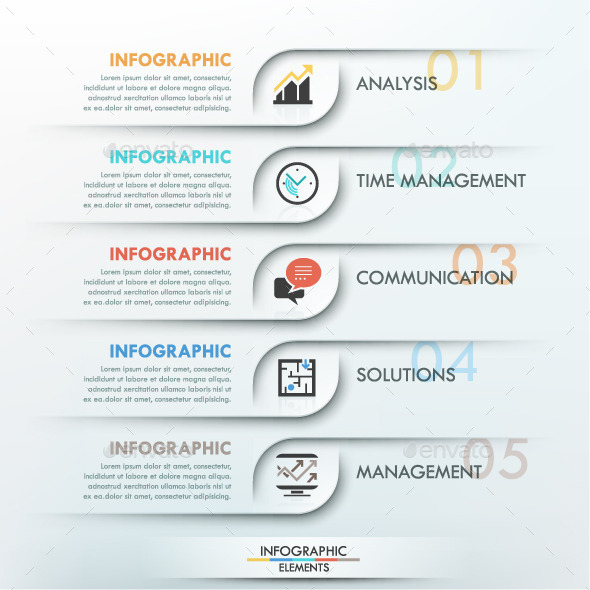Minimal Infographics Options Template - Infographics