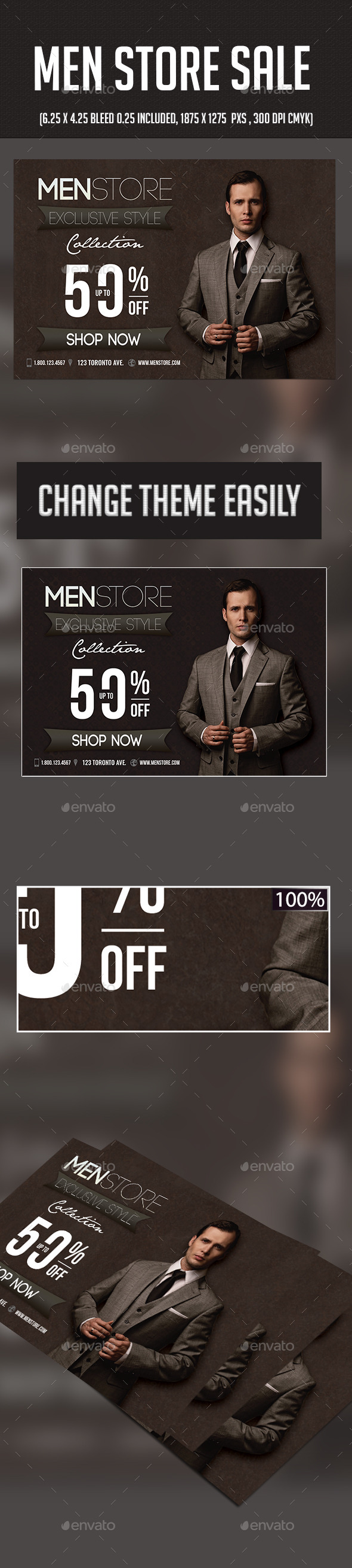 Men Fashion Sale - Commerce Flyers
