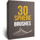 30 Abstract Sphere Brushes - GraphicRiver Item for Sale