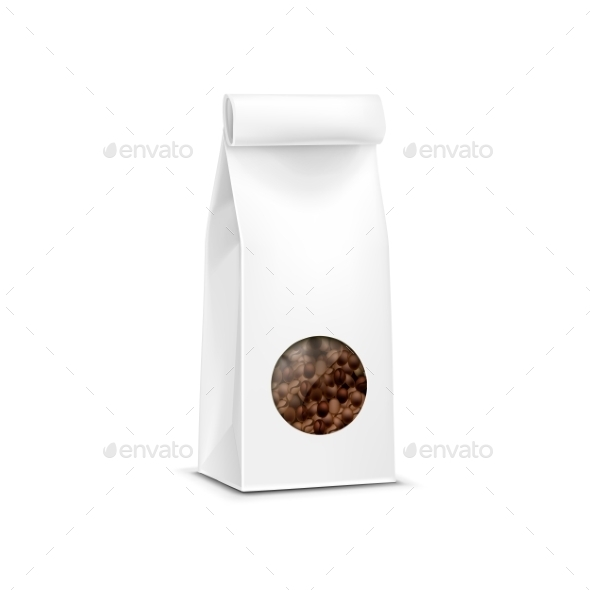 Vector Coffee Packaging Package Bag Isolated - Miscellaneous Vectors
