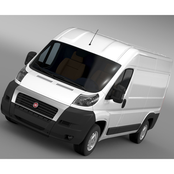 Fiat Ducato Van L2H2 2006-2014 - 3DOcean Item for Sale