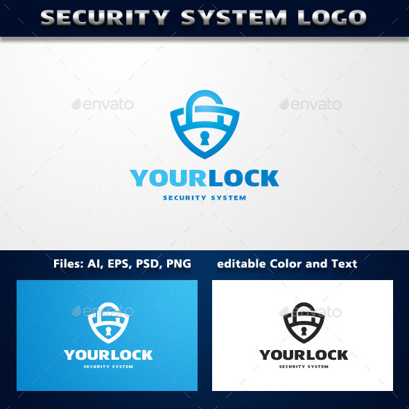 Security System Logo Template - Symbols Logo Templates