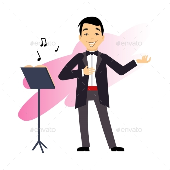 Male Opera Singer - People Characters