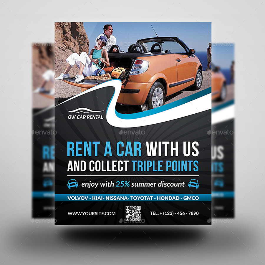 car brochure template