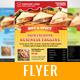 Mega Food Flyer Template - GraphicRiver Item for Sale