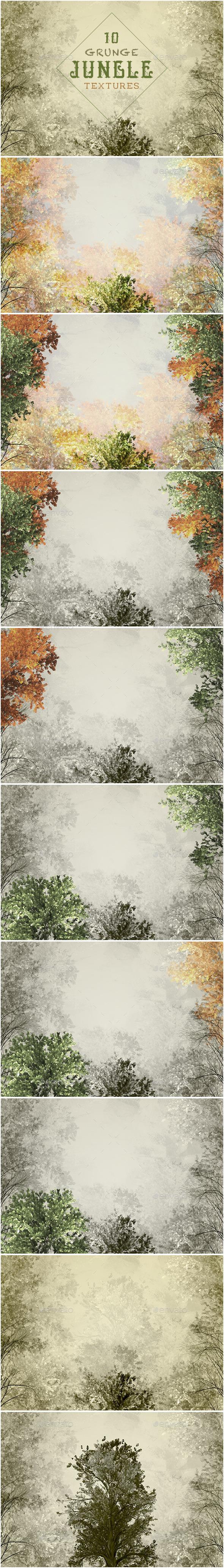 Grunge Jungle Textures - Industrial / Grunge Textures
