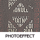 Typography Square Photoeffect - GraphicRiver Item for Sale