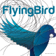 Flying Bird - Logo Template - GraphicRiver Item for Sale