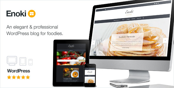 Enoki – Personal Blog For Foodies